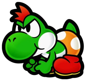 Yoshi Charging His Way On To Consoles