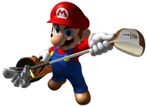 Mario Teeing Off Once Again